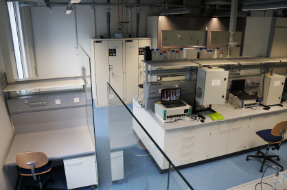 New laboratories