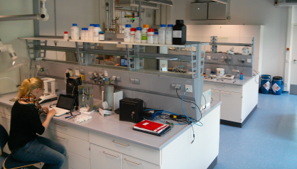 The new laboratories