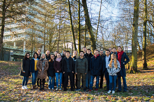 Group foto of the research group