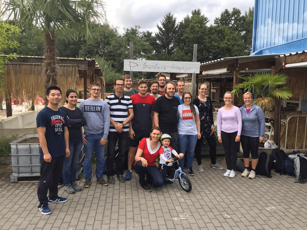 NanoEC teambuilding 2019