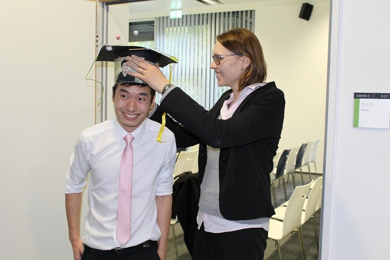 Congrats to Saw for his successful PhD defence