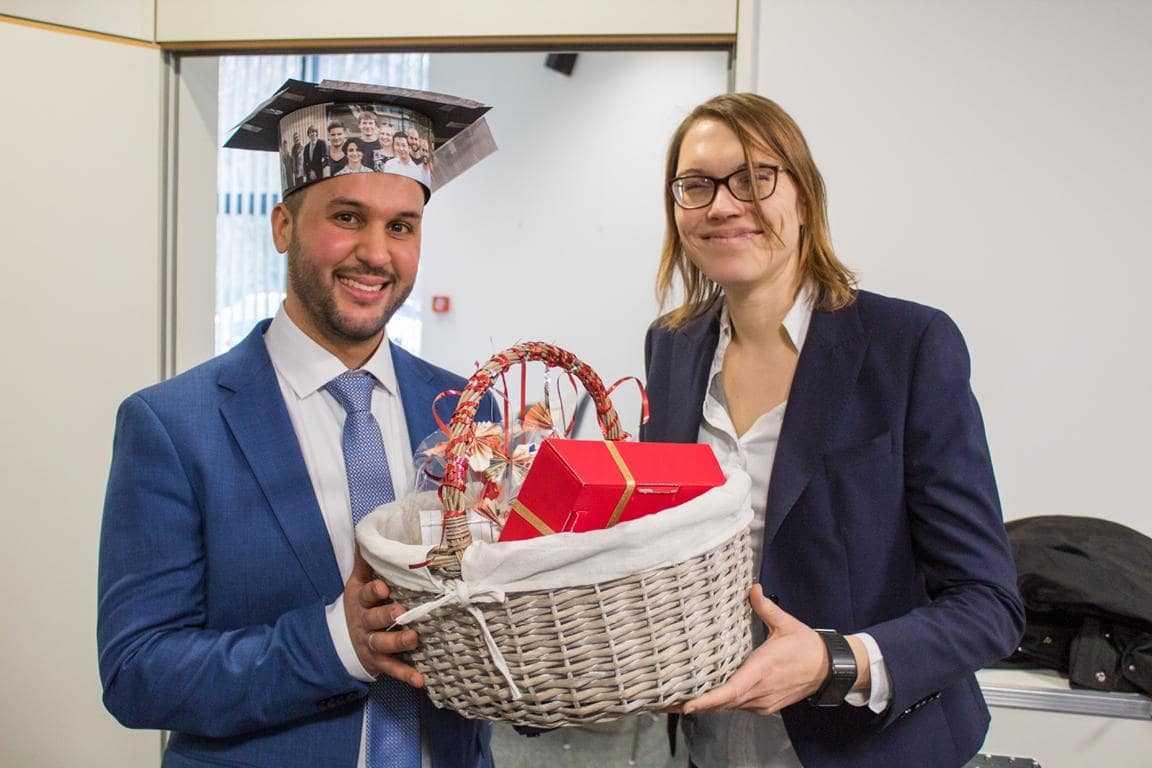 Congrats to Abdel for his successful PhD defence